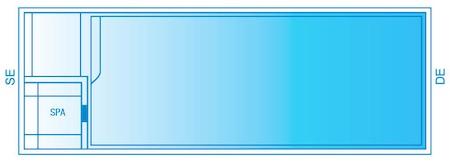 Caprice Inline Pool Diagram