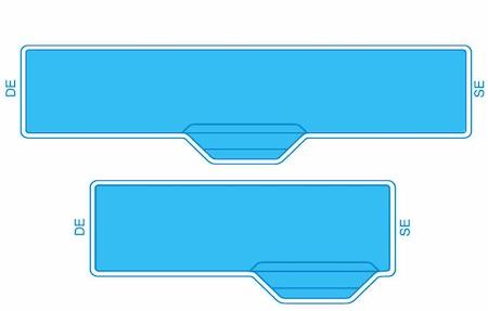 Inline Lap Pool Diagram