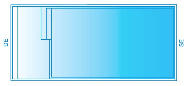 Leisure Inline Pool Diagram